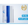China Good weatherability polyethylene stainless steel protective film wholesale