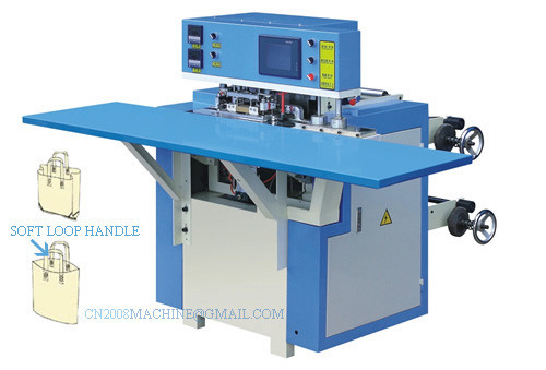 Quality RT Series Computer Control Soft Loop Handle Bag Making Machine for sale