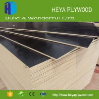 China cheap environmental protection 10mm 16mm thick melamine film faced plywood wholesale