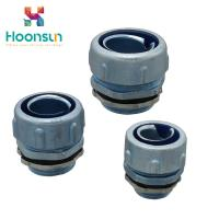 China Screw Hose Connector MPJ Electrical Equipment Flexible Conduit Connector wholesale