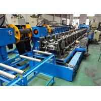 China 150mm 300mm Web Perforated Cable Tray Roll Forming Machine With Pre - Cut Device wholesale