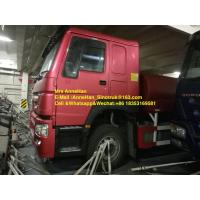 China Sinotruk Howo7 High Pressure Water Tank Truck 4000 Gallon Left Hand Drive 6X4 wholesale