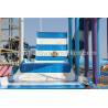 China Corrediça de água da piscina do parque do Aqua do passeio do divertimento da fibra de vidro para crianças wholesale
