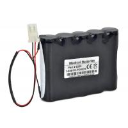 China 12V 3000mAh NI-MH Monitor Battery For Burdick EK10 ELITE2 Monitor for sale