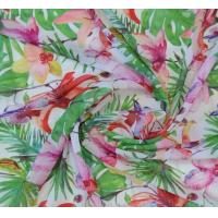 China Polyester 75D chiffon printed fabric for dress, garment, width 57/58 wholesale