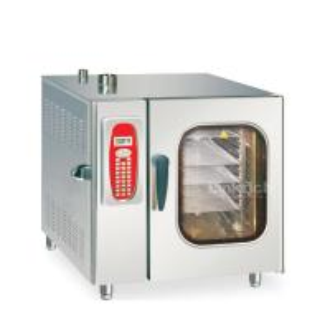 China JUSTA EWR-06-11-H Electric Baking Ocen 6-Tray Combi Steamer 380V / 50Hz wholesale