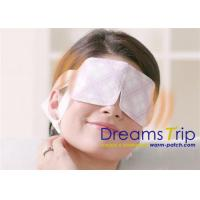 China Real Steam Released Self Heating Eye Mask With Lavender wholesale