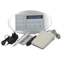 China Electric Rotary PMU Permanent Makeup Machine Kit For Eyebrow Lip Silver Color on sale