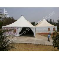 China 10 x 10 German Style High Peak Tents , wedding decoration tent Aluminum Alloy Profile wholesale