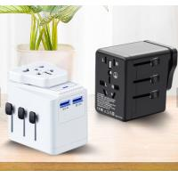China Grounded Universal USB Port Wall Charger 3600mA EU/AU/UK/US Plugs All In One on sale