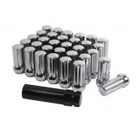 China Premium Chrome Wheel Lug Nuts 2 Inch Long Acorn For Ford F250 / F350 wholesale