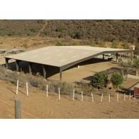 China Cowshed Steel Frame Metal Horse Shed Structure Stable Buildings Construction wholesale