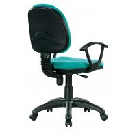 China Turquoise Green Fabric Office Chairs For Tall People High Durability wholesale