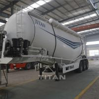 China 60 tons bulk cement trucks for sale bulk cement trailer manufacturers for sale on sale