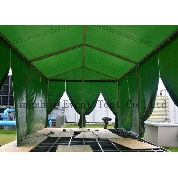 Quality Fire Retardant A Frame Tent With Fabric Zip Door for Business Show for sale