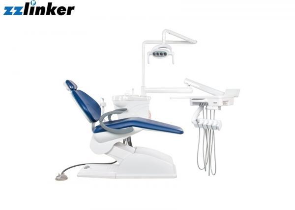 Quality Blue / Purple Dental Chair Unit Steel Metal 8 Color Optional Wooden Case Package for sale