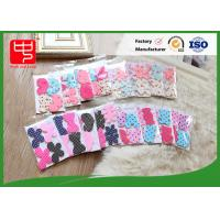 China Customized Nylon Hook and Loop hook and loop Hair Clips  small packing Common Color wholesale