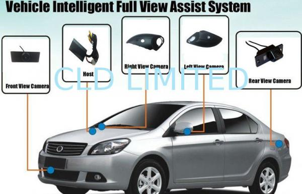 Quality IP67 Birds Eye View Camera System / Car Reverse Camera For Ford Focus Sedan for sale