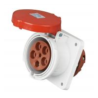 China Plastic PA Industrial 3 Phase Plug And SocketScrewless Type UV Resistant on sale