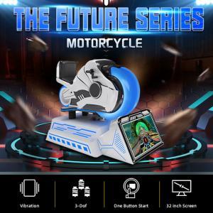 China 360 Degree VR Motorcycle Racing Cockpit Driving Simulator wholesale