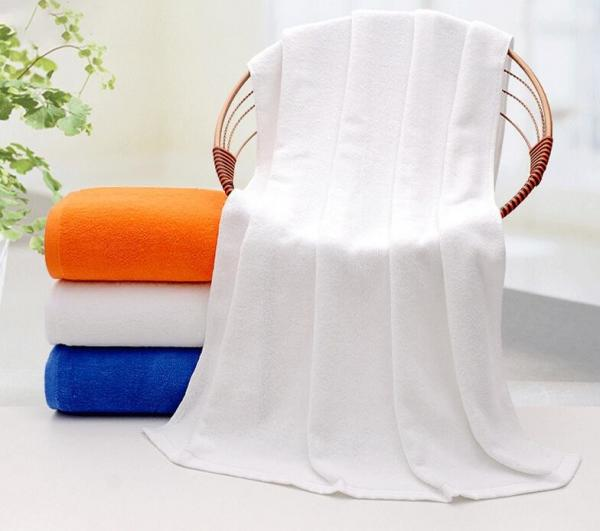 Quality Plain Terry Hotel Bath Towel, White Plain Terry Towel 70*150cm, 500gsm for Wholesale with competitive price for sale