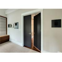 China Plastic Wood Composite Door MDF Material Finished Surface Interior Position on sale