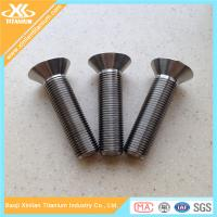 Gr5 Titanium Hex Socket Countersunk Head Bolts Used For Motorcycle