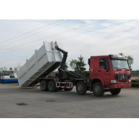 China SINOTRUK HOWO 20-25 CBM Carriage Removable Garbage Disposal Truck on sale