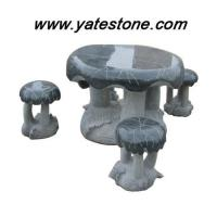 China Granite table and bench 05 wholesale