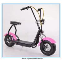 Buy cheap Small mini adult electric harley motorcycle 800W citycoco electric scooter from wholesalers
