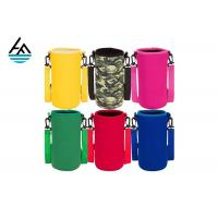 China Colorful Printed Can Cooler Bag , Neoprene Can Cover Simple Fashion Diving Material wholesale