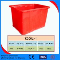 China Multifunction Large Plastic Food Storage Container Box on sale