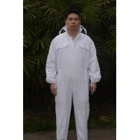 China Custom Beekeeping Protective Clothing , Bee Protection Suit With Protective Bee Hat wholesale