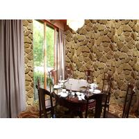 China Mable Printing 3D Home Wallpaper , Scrubable 3d wallpaper for home decoration wholesale