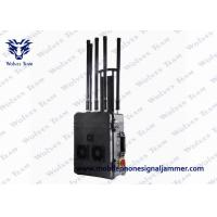 Buy cheap VIP Security Cell Phone Signal Jammer With Built - In Efficient Cooling Fan from wholesalers