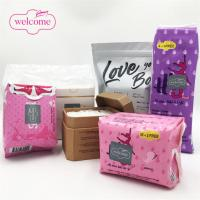 China Different Types Of Ultra Sanitary Napkin OEM Private Label Manufacturing Sanitary Pads Plastic Bag Pouch Tin Box Packagi on sale