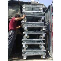 China Low carbon Steel metal cages , Loading capacity 1000 - 3000kg wholesale