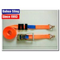 China Truck Trailer Ratchet Strap Parts Heavy Duty Lashing Straps With Two Parts wholesale