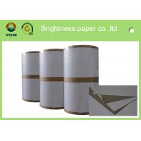 China Mixed Pulp Material Grey Back Duplex Board Paper Printing Area Applied wholesale