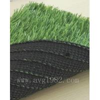Diamond Series Fake Grass Carpet Outdoor / Soccer Turf With 50mm Pile Height