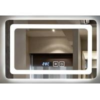 China IP44 Wall Mounted Led Behind Mirror For Luxury Hotel , Frameless Bathroom Mirror wholesale