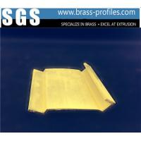 China New Decorative  Extrusion Brass Window Channel Customized Profiles wholesale