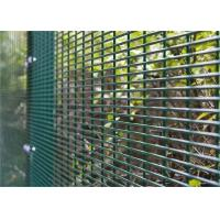 China Anti Climb and Anti Cut Fence Security Airport Prison Barbed Wire 358 Fencing wholesale