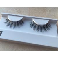 OEM service Makeup lashes 100% human hair false eyelash