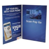 China 7inch lcd brochure card on sale