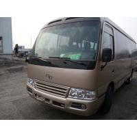 China 100% original japan toyota coaster city  bus 6 cyliner diesel engine buses left hand drive 30 seats wholesale