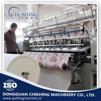China 3.5kw Automatic Quilting Machine , Sewing And Quilting Machine 12 Inch Stroke wholesale