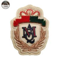 China Royal Exquisite 3D Puff Embroidery Digitizing Velvet Patch With Rubber Lable wholesale
