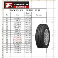 China light truck tire such as 185/75R16C,185R14C,195/65R16C,195/65R16C and so on wholesale