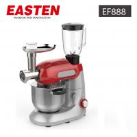 China Easten Kitchen Plastic Stand Food Mixer EF888/ 1000W Electric Dough CakeStandMixer With Meat Grinder wholesale